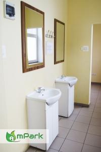noclegi Bytom - łazienka