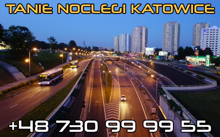 tanie noclegi Katowice - już od 27 zł / doba