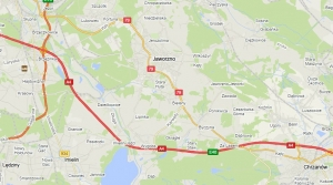 Noclegi Jaworzno - mapa dojazdu